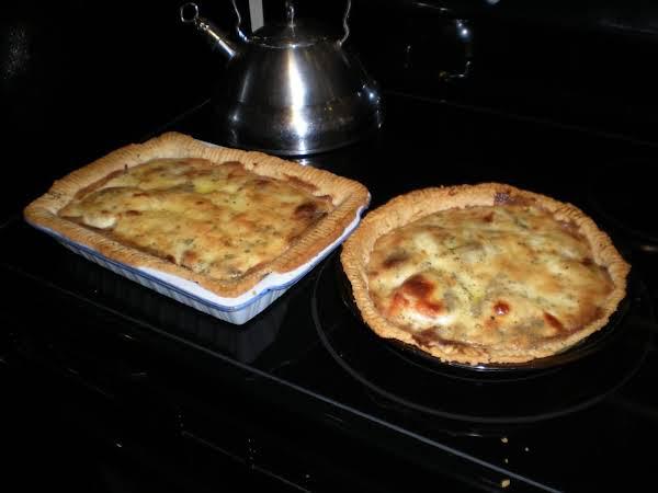 Tomato & Bacon Pie Recipe