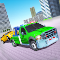 US Army Tow Truck Driving: Car Transporter Game icon