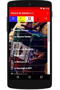 musica banda y corridos RADIO 1.14 [Mod + APK] Android 1