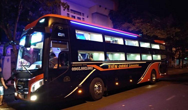 Xe Tiến Oanh limousine đi Đắk Lắk từ Sài Gòn
