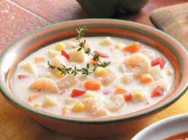 Simple Shrimp Chowder Recipe