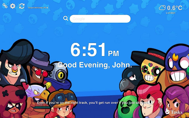 Brawl Stars Wallpapers and New Tab Themes