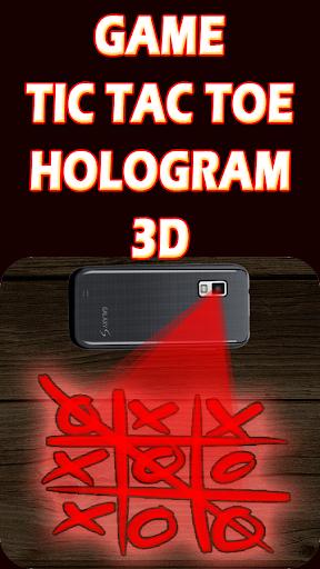 Hologramme Tic Tac Toe Prank