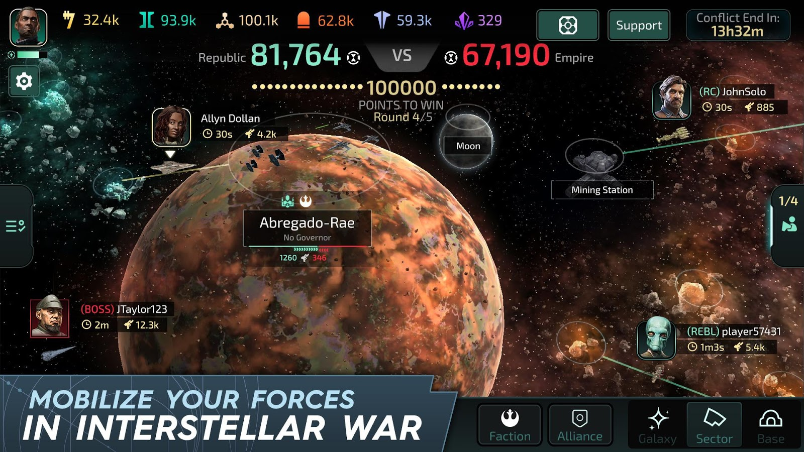 Star Wars Commander 7.4.0.95 Apk + Mod for Android
