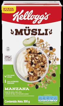 Cereal Kellogg´s Müsli   Manzana x300G.