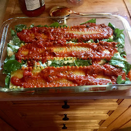 Lasagna Prep by Debbie Squier-Bernst - Food & Drink Cooking & Baking (  )