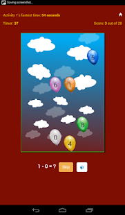 Maths Skill Builder- screenshot thumbnail