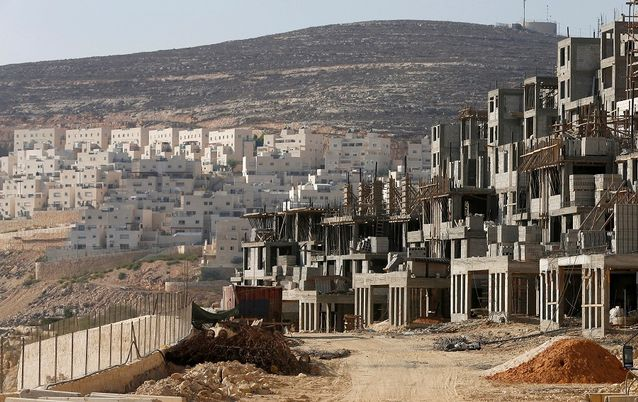 A construction site in Jewish settlement near Jerusalem, Israel. Picture: REUTERS