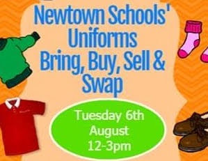 School uniform bring and buy event to be held in Newtown