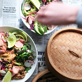 ASIAN ABUNDANCE BOWL with CASHEWS and LIME Recipe