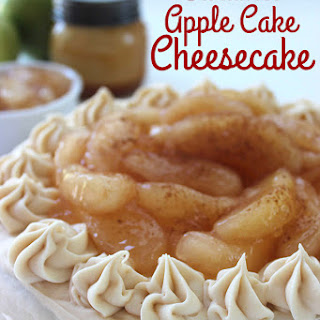 Caramel Apple Cake Cheesecake