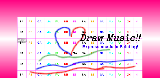 Drawing Music game (apk) free download for Android/PC/Windows screenshot