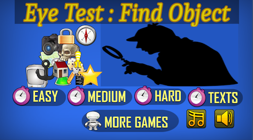 Eye Test Find Hidden Object