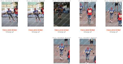 Photo: Vignettes photos de course de Michel.