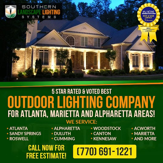outdoor lighting in alpharetta