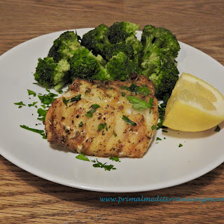 Baked Monkfish Fillet.