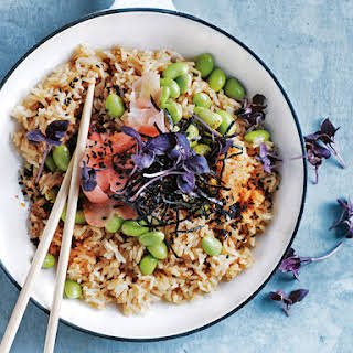 Japanese-style Vegetable Fried Rice.