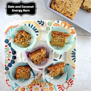 Date and Coconut Energy Bars