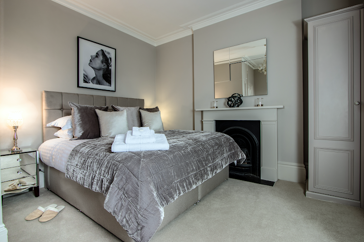 Luxury bedroom at No.9 The Barons