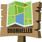 Drumheller Map