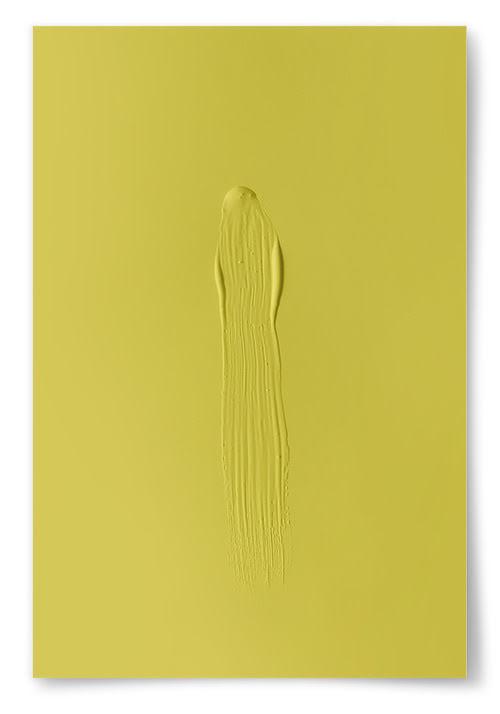 Poster Gul Färg