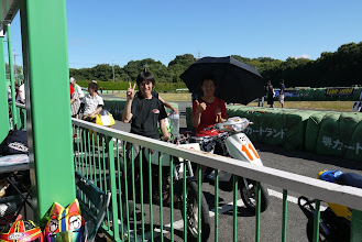 Photo: 吾郎さんとくにさんは車検待ちo(*^▽^*)o~♪