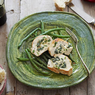 Chicken Breast Stuffed with Spinach and Ricotta.