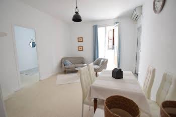 Appartement meublé 3 pièces 51,78 m2