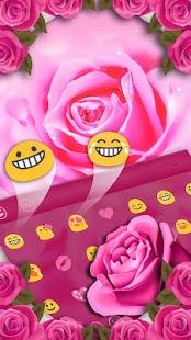 [Download Pink Rose Keyboard Theme for PC] Screenshot 4