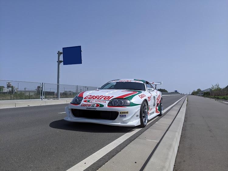 スープラ JZA80のアドバンレーシングGT,ホイール交換,ドライブに関するカスタム&メンテナンスの投稿画像1枚目