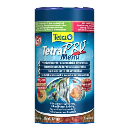 TetraPro Meny multi-crisps 250ml/64g