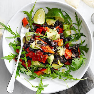 Tex-Mex Black Bean and Avo Salad Recipe