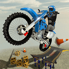 Rooftop Bike Rider Stunt Game icon