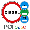 Dieselfahrverbote, Blitzer & Navigation by POIbase icon