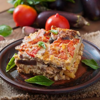 Mediterranean-Style Vegetable Moussaka