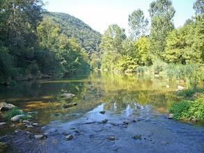 Photo: El Fluvià a la vora de Sant Jaume de Llierca
