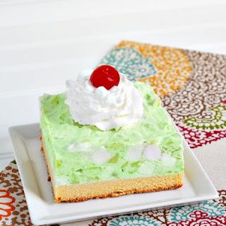Frozen Watergate Salad Pound Cake Dessert