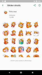 New WAStickerApps 😍 Girly Stickers For WhatsApp Screenshot