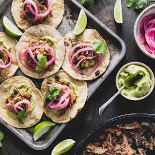 Crispy Carnitas Tacos.