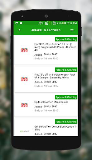 Grab Deals - Offers & Coupons 2.0.3 screenshots 4