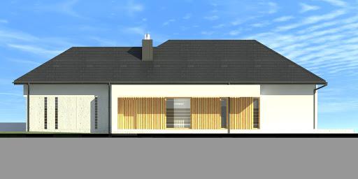 New House 8 - Elewacja prawa