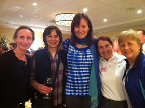 Photo: Napa Valley Marathon - 2013 Julie McKinney, Nina Kuscsik, Lorraine Moller, Jacqueline, Jan Seeley