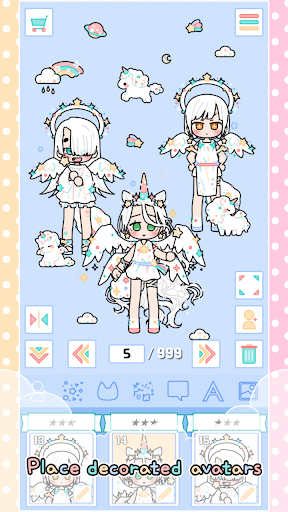 Pastel Friends : Dress Up Game 1.2.4 screenshots 4