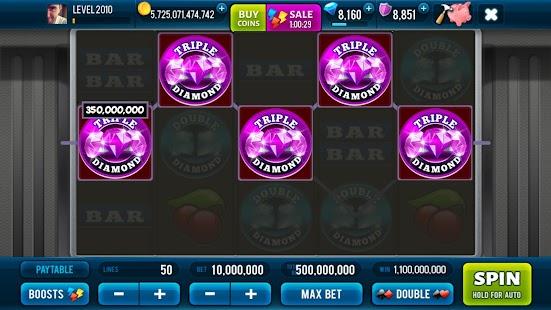 3 Pink Jackpot Diamonds Slots Screenshot