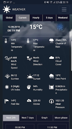 Weather network 1.3 screenshots 1