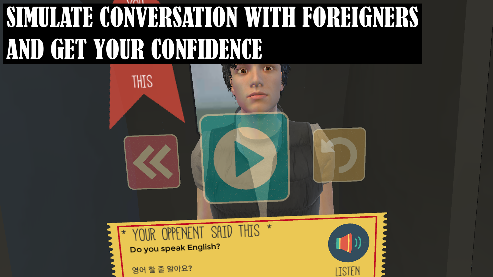 app to talk to foreigners