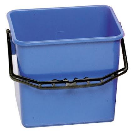 Skurhink 4-kantig blå    6 l