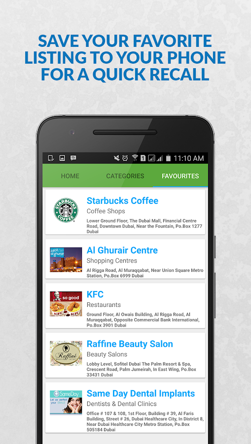 LocalSearch UAE- screenshot