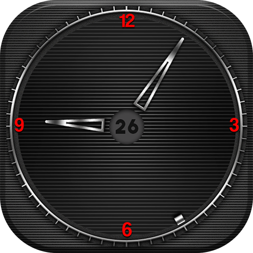 Current Time Clock Wallpaper Icon