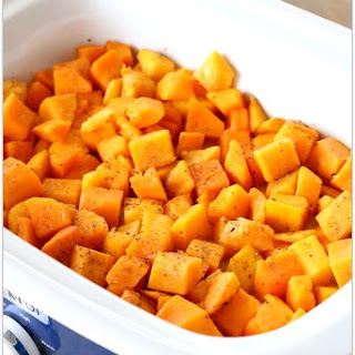 Slow Cooker Butternut Squash.